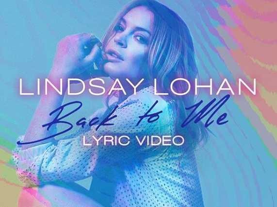 Lindsay Lohan anuncia nueva canción Back To Me