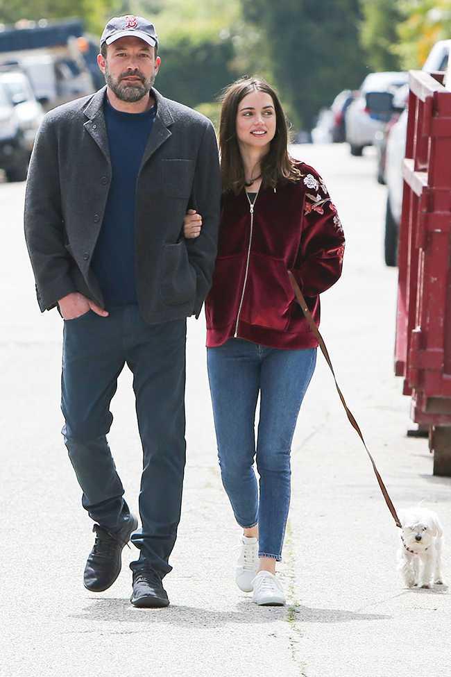 Ben Affleck y Ana De Armas van en serio!