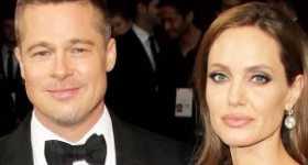 Brad Pitt y Angelina Jolie más cordiales que nunca