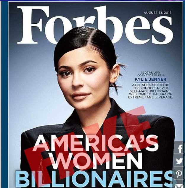 Forbes afirma que Kylie Jenner No es Multimillonaria! WTF?