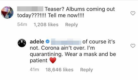 Adele y Skepta coquetean en Instagram