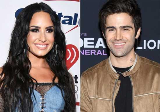 Demi Lovato y su novio Max Ehrich hablando de compromiso?