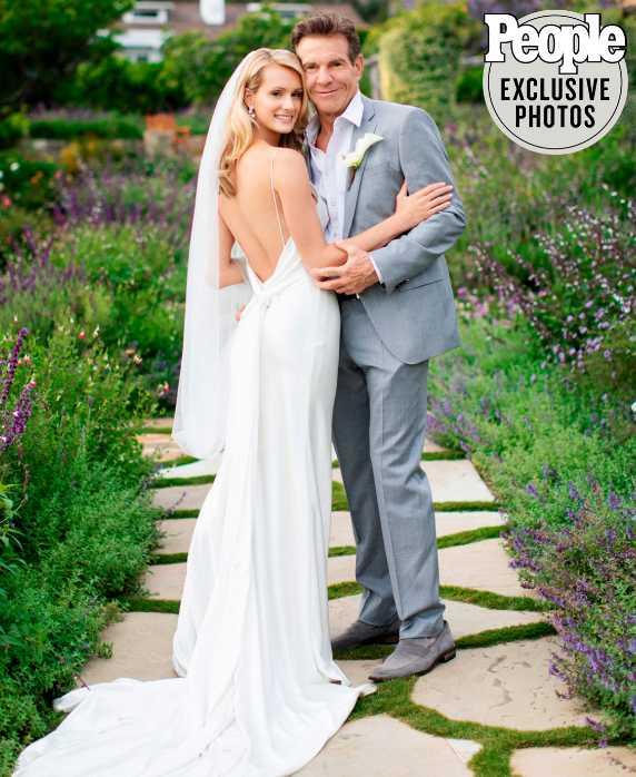 Dennis Quaid y Laura Savoie se casaron en secreto
