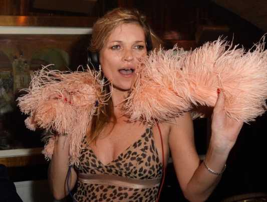 Ex Party Animal, Kate Moss ahora se acuesta a las 11 pm