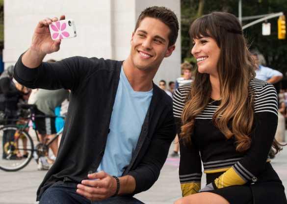 Ex novio de Lea Michele en Glee Dean Geyer la defiende
