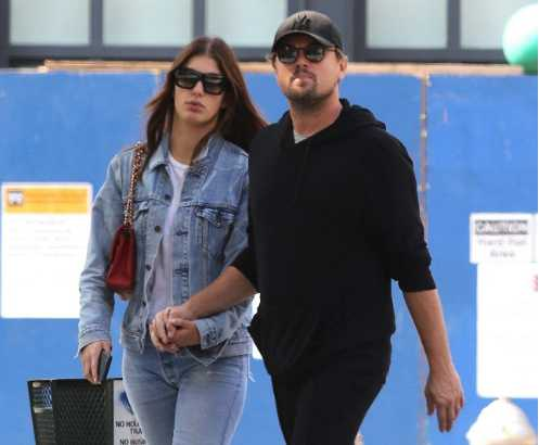 Leonardo DiCaprio celebró el cumple de su novia Camila