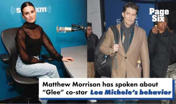 Matthew Morrison habla de Lea Michele en Glee