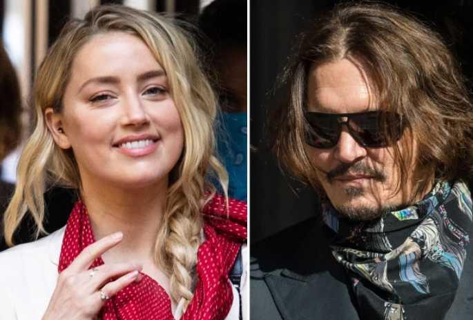 Amber Heard admite golpear al f*king baby Johnny Depp