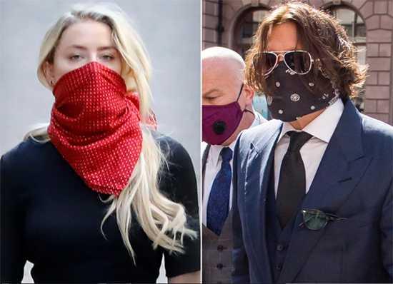 Johnny Depp y Amber Heard se enfrentan en la corte