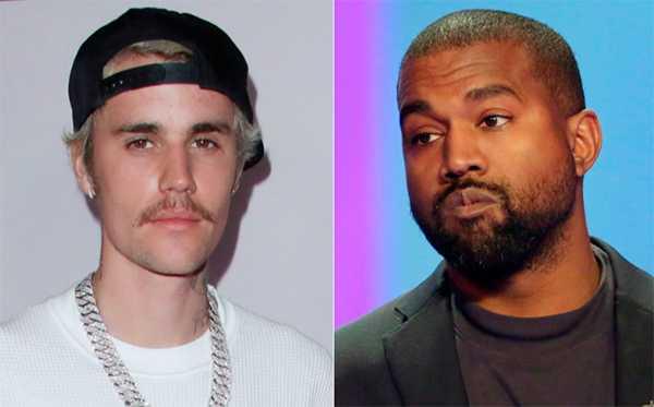 Justin Bieber animó a Kanye a que hablara con Kim