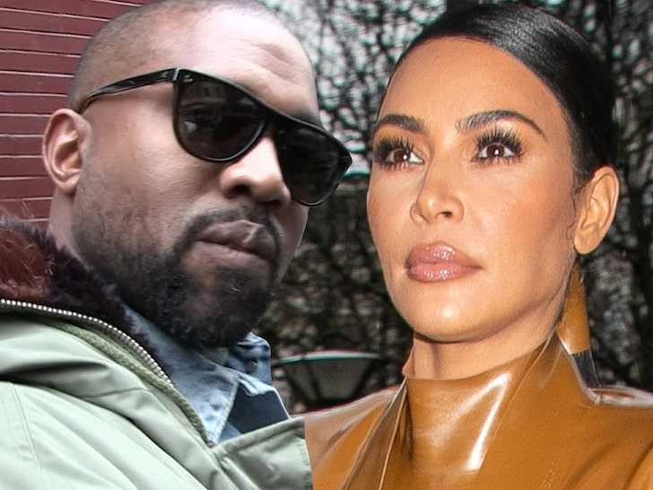 Kanye West no quiere ver a Kim Kardashian, la ignora