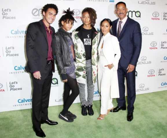 Familia de Jada y Will Smith feliz de que hablaran de Alsina