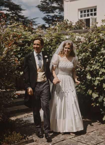 Fotos boda de la Princesa Beatrice y Edoardo Mapelli Mozzi