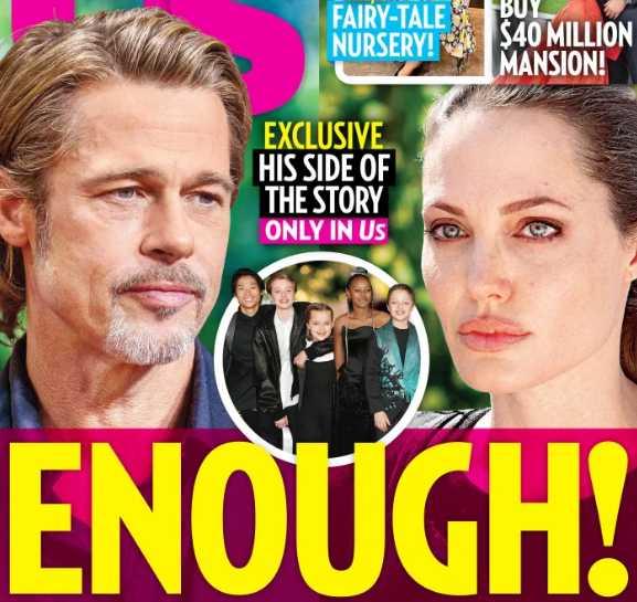 Brad Pitt cree que Angelina ha ido muy lejos