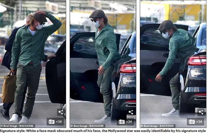 Brad Pitt con la modelo Nicole Poturalski?
