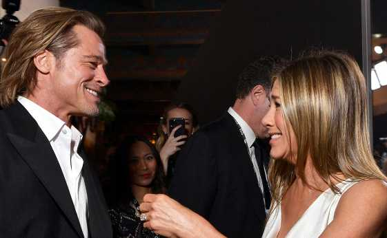 Jennifer y Aniston y Brad Pitt juntos en la pantalla