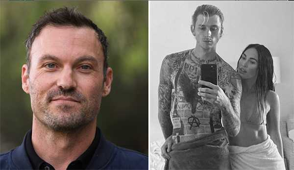 Brian Austin Green mal porque Megan Fox se fue con Machine Gun Kelly