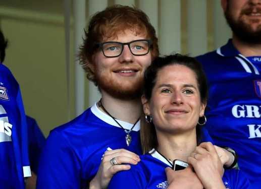 Ed Sheeran y Cherry Seaborn esperan su primer baby