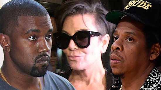 Kanye West nostálgico con Kris y Jay Z