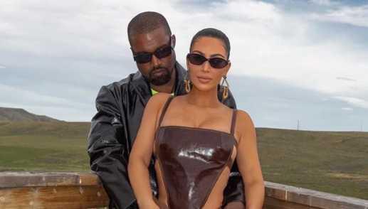 Kim Kardashian regresó a LA Kanye se quedó en Wyoming