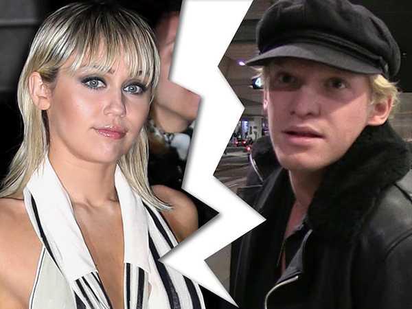 Miley Cyrus y Cody Simpson terminaron