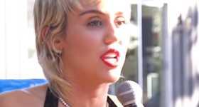 Miley Cyrus quiere un novio aburrido