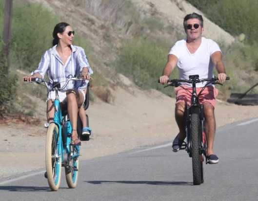 Simon Cowell se rompió la espalda en accidente de bici