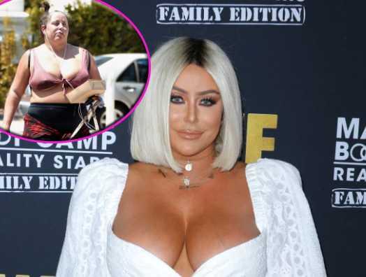Aubrey O'Day furiosa por fotos de paps que la muestran gorda