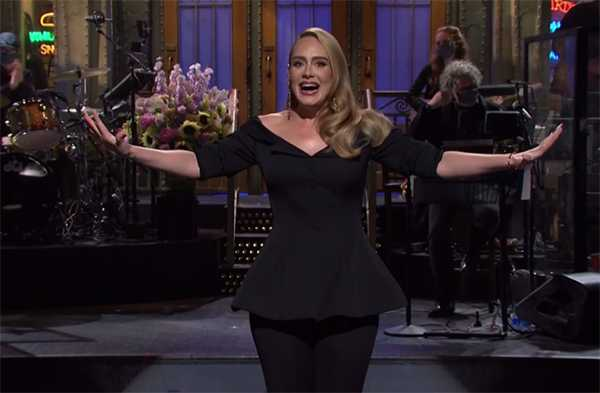 Adele saliendo con Skepta, ella se está divirtiendo