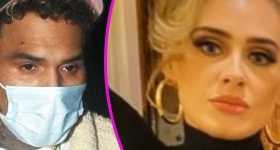 Adele y Chris Brown en cita nocturna en Londres