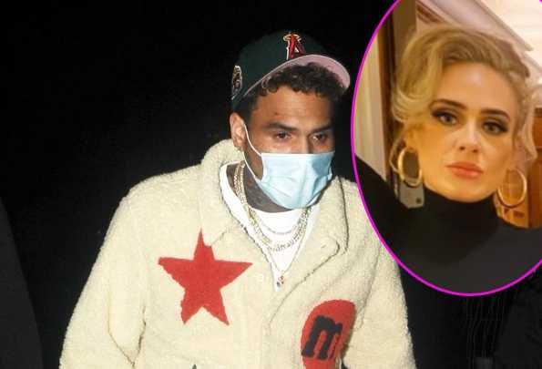 Adele Y Chris Brown En Cita Nocturna En Londres Farandulista