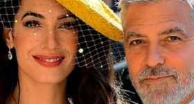 George y Amal Clooney no conocían a Harry y Meghan