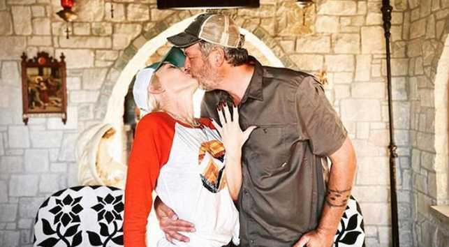 Gwen Stefani y Blake Shelton comprometidos!