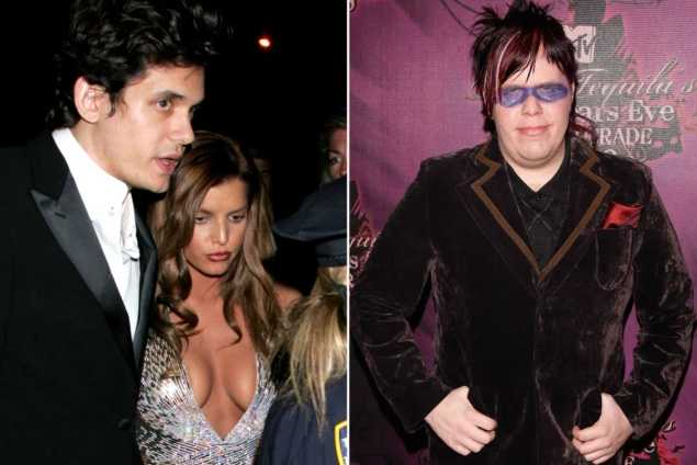 John Mayer besuqueó a Perez Hilton frente a Jessica Simpson