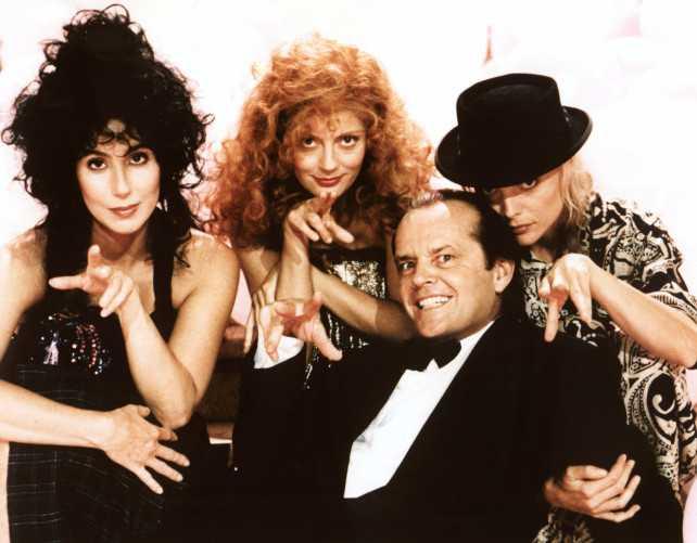 Susan Sarandon contó que Cher le robó el papel en Las Brujas de Eastwick