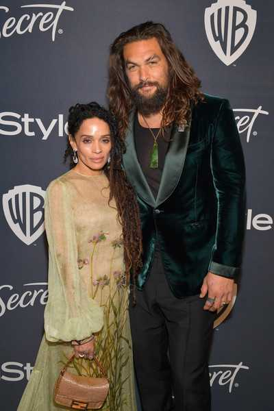 Jason Momoa y su esposa Lisa Bonet