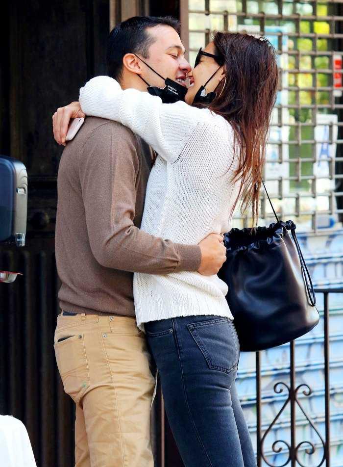 Katie Holmes no teme que su relación con Emilio Vitolo vaya rápido