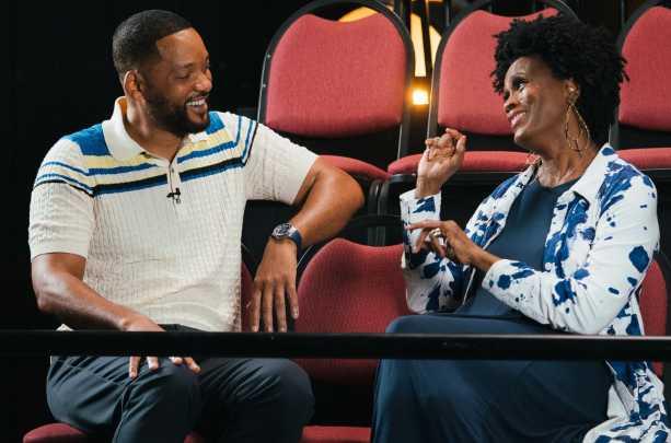 Will Smith y Janet Hubert en la reunión del especial de HBO Max del Principe del Rap