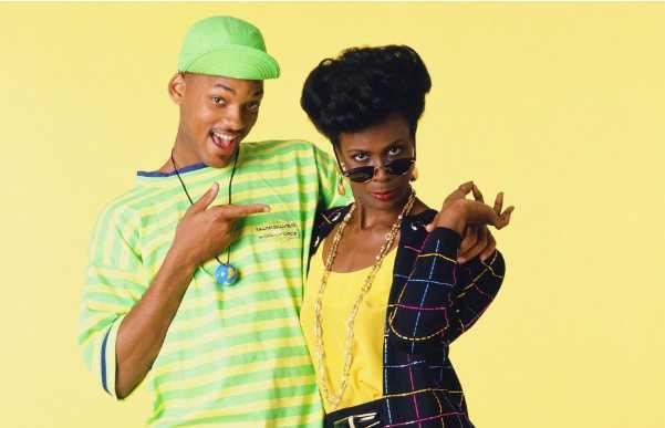 Will y la tía Vivian en el Principe del Rap