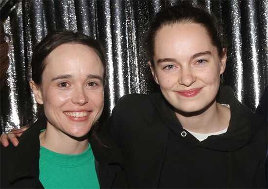 Ellen Page y Emma Porter hace dos años