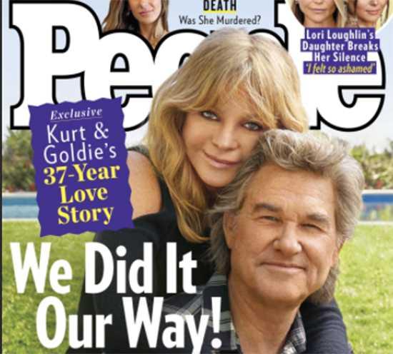 Kurt Russell y Goldie Hawn nunca sintieron necesidad de casarse
