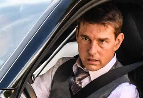 Tom en una escena de Mission Impossible 7