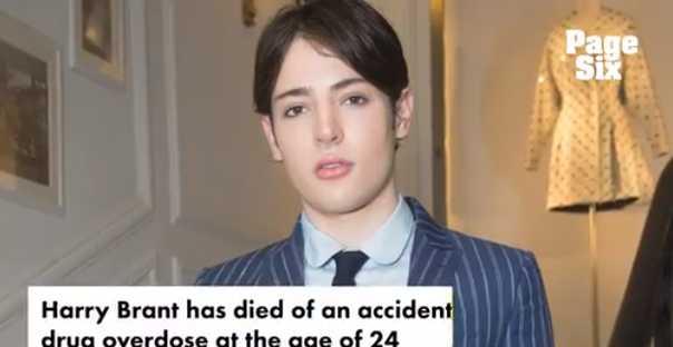 El mundo de la moda llora la muerte de Harry Brant