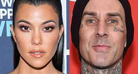Kourtney Kardashian saliendo con Travis Barker