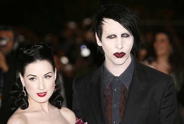 Dita Von Teese habla de las acusaciones a Marilyn Manson