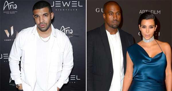 Drake se acostó con Kim Kardashian?