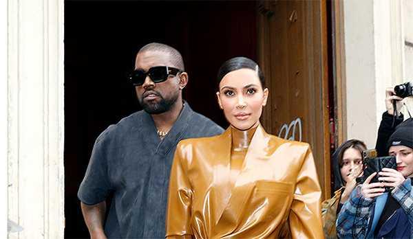 Kanye West no cree que Kim Kardashian termine su matrimonio