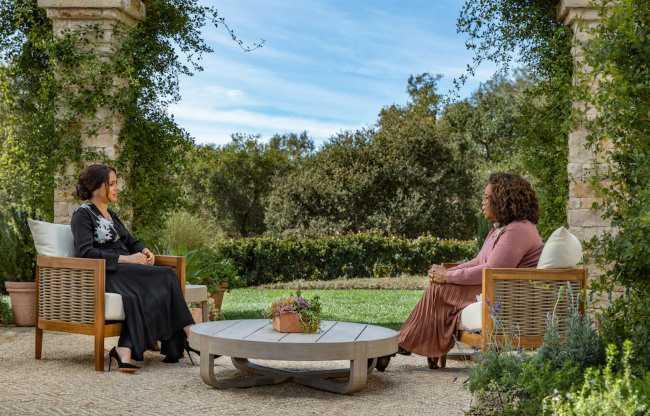 Entrevista de Meghan Markle y el Principe Harry con Oprah