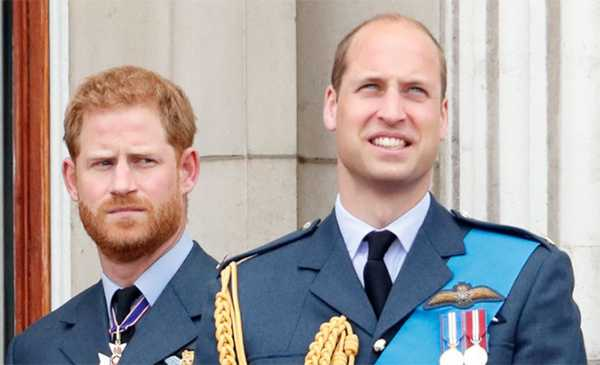 Principe William furioso con su hermano Harry