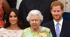 The Queen emite comunicado por entrevista de Harry y Meghan
